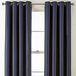 Studio Finley Blackout Grommet-Top Single Curtain Panel