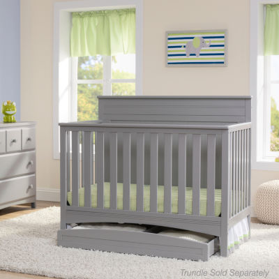 Delta Children Fancy 4-in-1 Convertible Crib