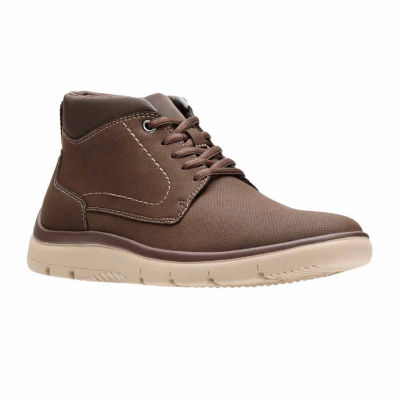 Clarks Mens Tunsil Plain Oxford Shoes
