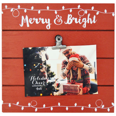 New View Merry And Bright Clip 1-Opening Tabletop Frame