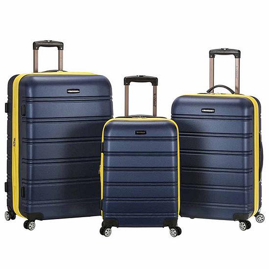 62fb33abd Rockland Melbourne 3-pc. Hardside Luggage Set - JCPenney
