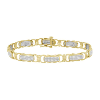 3/4 CT. T.W. Genuine White Diamond 10K Gold 7 Inch Tennis Bracelet
