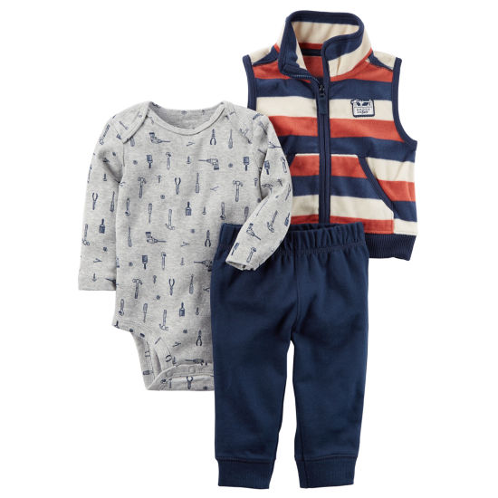 Carter's 3-pc. Stripe Pant Set Baby Boys