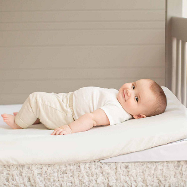 Summer Infant Swaddleme Good Vibes Vibrating Crib Wedge Baby Mattress