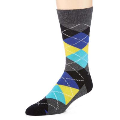 HS By Happy Socks Men's 1 Pair Crew Socks - Big