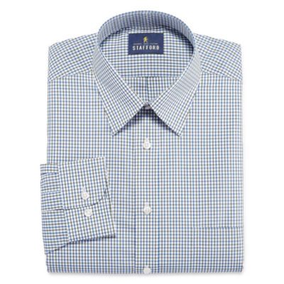 Stafford Travel Performance Super Big and Tall Long- Sleeve Dress Shirt