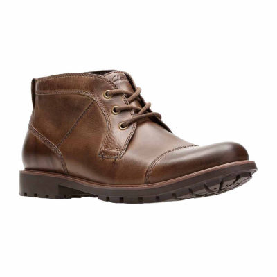 Clarks Mens Curlington Top Chukka Boots Lace-up