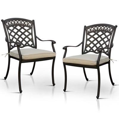 Silvon 2-pc. Patio Dining Chair