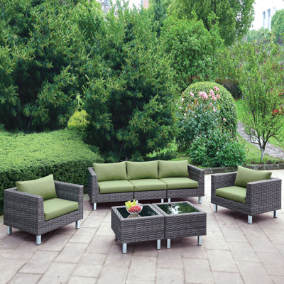 Pressly 7-pc. Patio Lounge Set