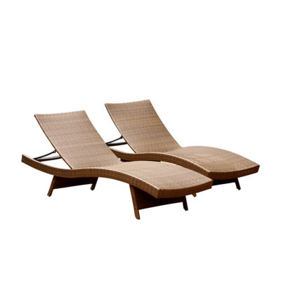 Devon & Claire Monterey 2-pack Patio Lounge Chair