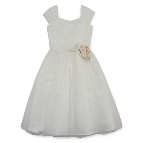 Lavender By Us Angels Flower Girl Dresses Sleeveless Party Dress
