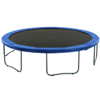 Upper Bounce Super Trampoline Replacement Safety Pad (Spring Cover) Fits for 15 FT. Round Frames - Blue