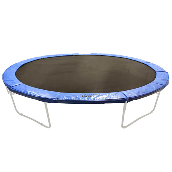 Super Trampoline Safety Pad (Spring Cover) Fits for 16 x 14 FT. Oval Frames - Blue