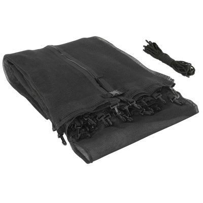 Upper Bounce Trampoline Replacement Enclosure Safety Net: Fits For 15  ft Using 3 Arches (NET ONLY)