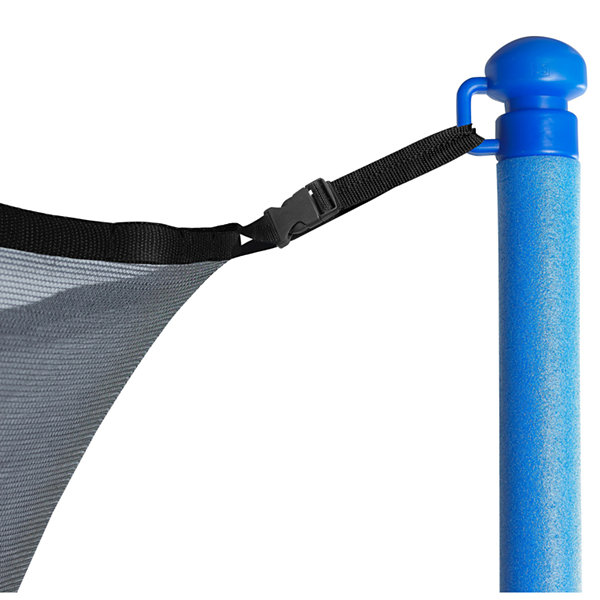 Upper Bounce Trampoline Replacement Enclosure Net:Fits For 13 ft Works with multiple amount of poles - Pole Caps Included