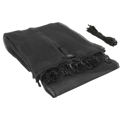 Upper Bounce Trampoline Replacement Enclosure Safety Net: Fits For 11 ft Using 3 Arches (NET ONLY)