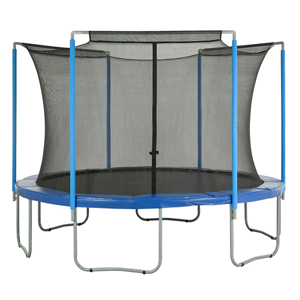 Upper Bounce Trampoline Replacement Enclosure Safety Net: Fits For 12 ft Using 3 Arches (NET ONLY)
