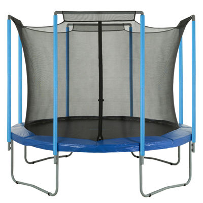 Upper Bounce Trampoline Replacement Enclosure Safety Net: Fits For 12 ft Using 4 Arches (NET ONLY)