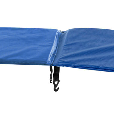 Upper Bounce Super Trampoline Replacement Safety Pad (Spring Cover) Fits for 14 FT. Round Frames - Blue
