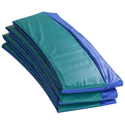 Upper Bounce Super Trampoline Replacement Safety Pad (Spring Cover) Fits for 14 FT. Round Frames - Blue/Green