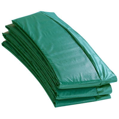 Upper Bounce Super Trampoline Replacement Safety Pad (Spring Cover) Fits for 14 FT. Round Frames - Green