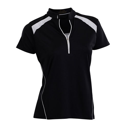 Nancy Lopez Golf Sporty Short Sleeve Polo