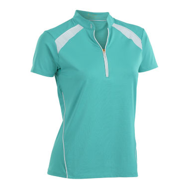 Nancy Lopez Golf Sporty Short Sleeve Polo