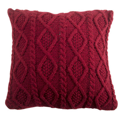 HiEnd Accents Cable Knit Pillow