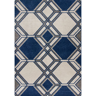 Lucia Grant Indoor-Outdoor Rectangular Rugs