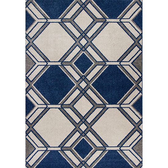 Kas Lucia Grant Indoor-Outdoor Rectangular Indoor/Outdoor Rugs