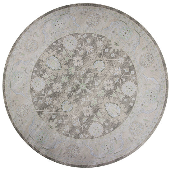 Kas Chandler Tabriz Round Indoor Rugs