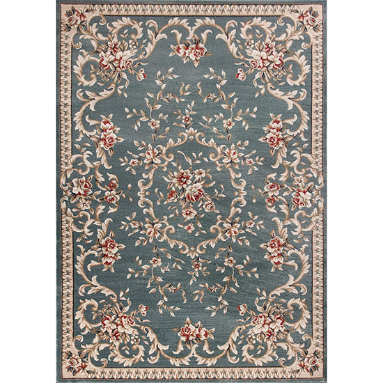 Kas Avalon Aubusson Rectangular Indoor Rugs