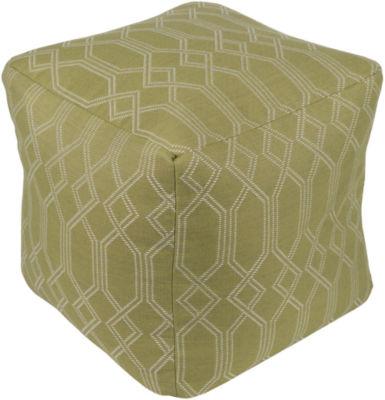 Willshaw Geometric Pouf Ottoman