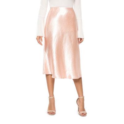 T.D.C Satin Pencil Skirt