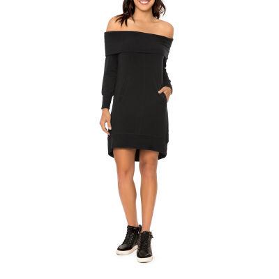 T.D.C Off Shoulder Tunic Dress