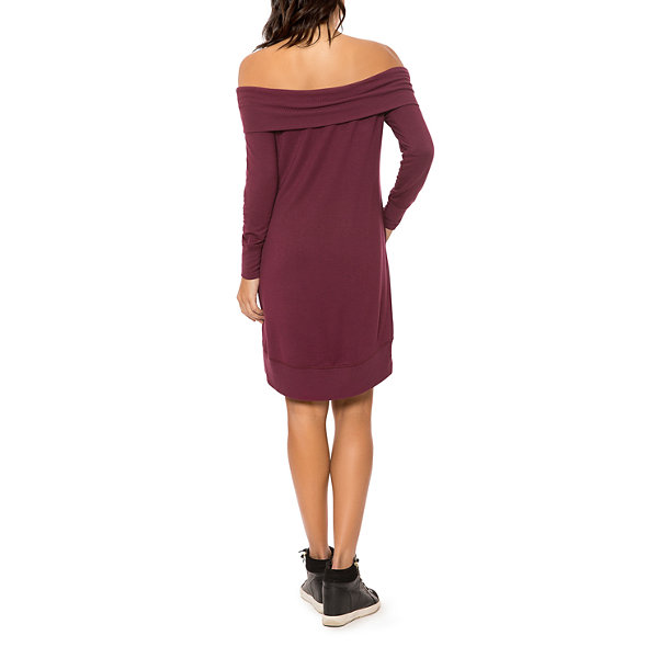 T.D.C Off Shoulder Tunic Dress