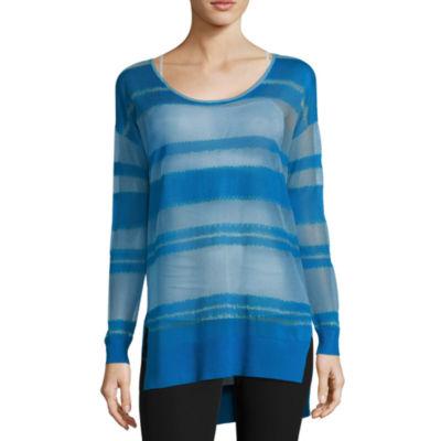 Worthington Shadow Stripe Pullover