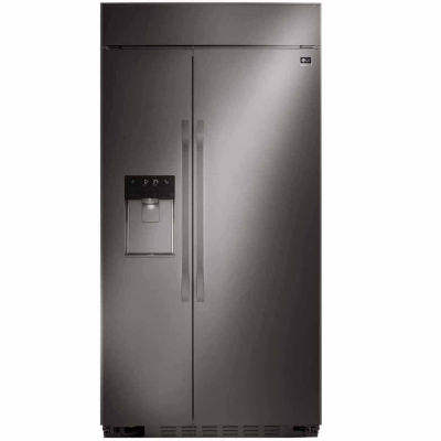 LG STUDIO ENERGY STAR® Ultra-Large Capacity Side-by-Side Built-In Refrigerator with Ice & Water Dispenser