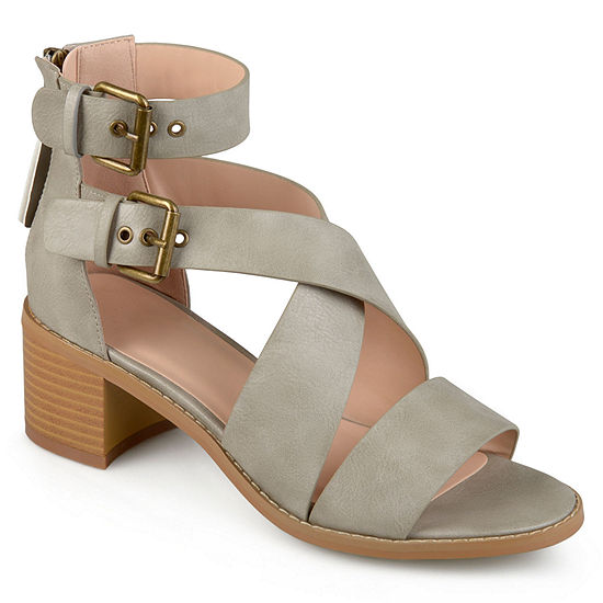 Journee Collection Womens Soraya Heeled Sandals