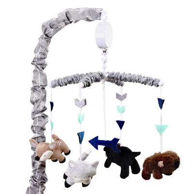 The Peanutshell Woodland Trail Baby Mobile