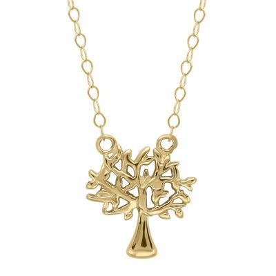 Teeny Tiny® 14K Yellow Gold Petite Family Tree Pendant Necklace