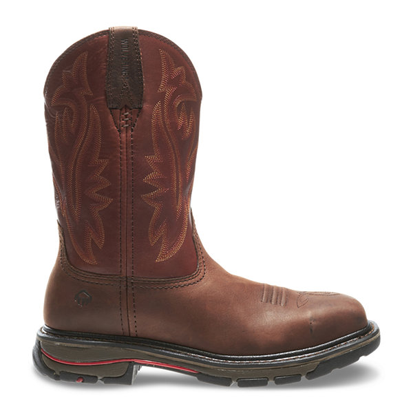 Wolverine® Steel-Toe Javelina Wellington Mens Work Boots