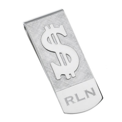 Personalized Dollar Sign Money Clip