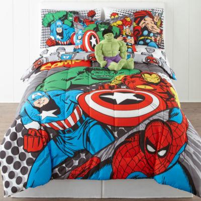 Jcpenney.com   Marvel® Comics Avengers® Twin/Full Reversible Comforter +  BONUS