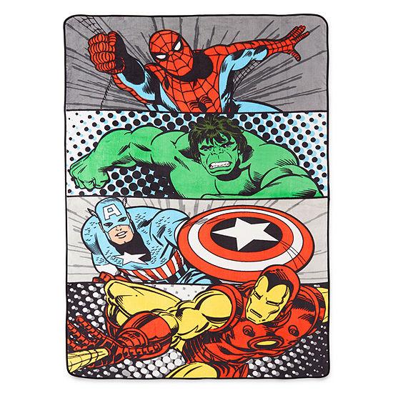Marvel® Comics Avengers® Blanket