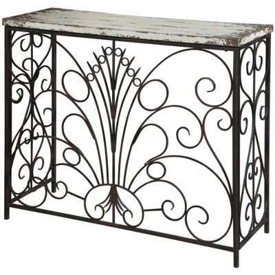 Scrollwork Console Table