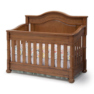 Simmons Kids® Hanover Park Crib 'N' More - Chestnut