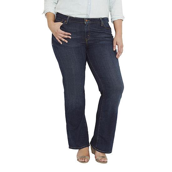 07472ef9f35b2 Levis 590 Fuller Waist Bootcut Jeans Plus
