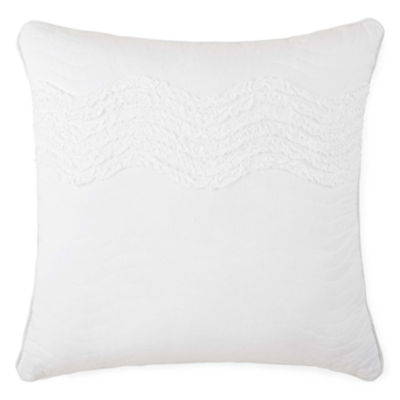 JCPenney Home™ Cotton Classics Ruffle Euro Pillow