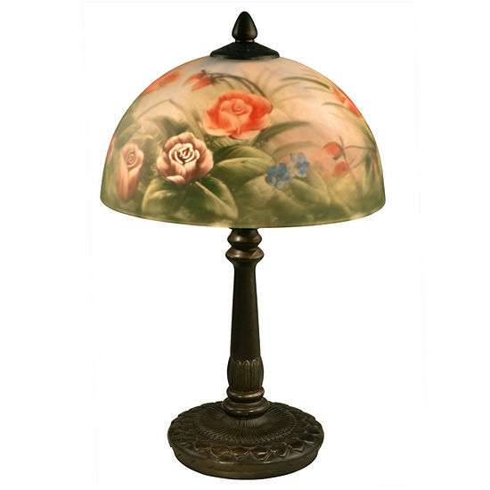 Dale Tiffany™ Rose Dome Table Lamp